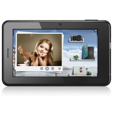 Android 4.1 7 inch WSVGA MTK8377 Dual Core IPPO F7 Pro 3G Phablet Dual Cameras GPS 1GB RAM 8GB ROM