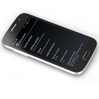 Y9190 4.0 inch Android 4.2 3G Smart Phone MTK6572 Dual Core 1.2GHz WVGA IPS Screen WiFi GPS 5MP Camera