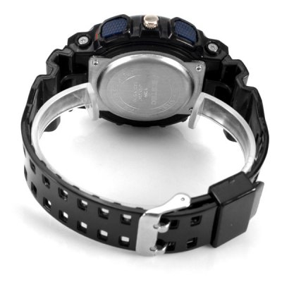 Гаджет   S - Shock Light LED Waterproof Watch with Double - movt Round Dial and Silicon Band Watches
