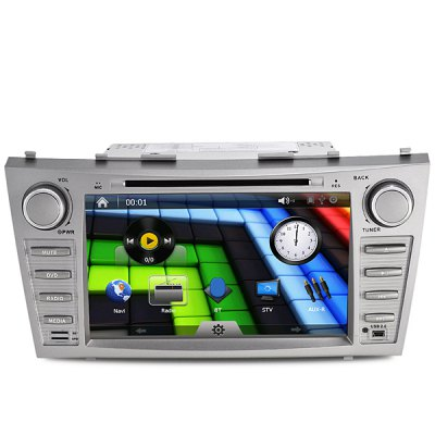 Гаджет   J-8611MX 8 Inches Digital Touch Screen Car Accessories GPS DVD Player for Toyota Camry Car DVD Players