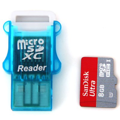 SanDisk SanDisk 8GB Class10 Hot Sale Micro SD/SDHC Card with Micro Card Reader