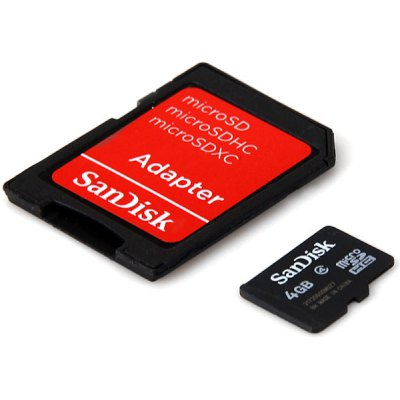 SanDisk 4GB Calss4 Micro SD/SDHC Card