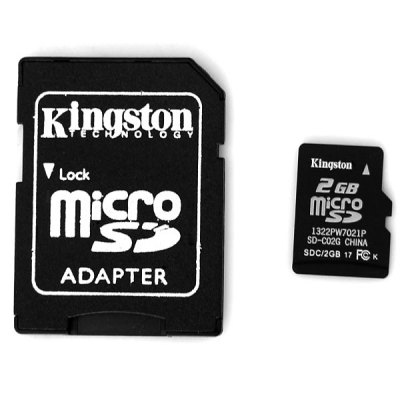Kingston 2GB Calss4 Hot Sale Micro SD/SDHC Card