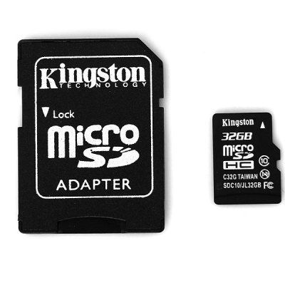Kingston 32GB Class 10 Hot Sale Micro SD/SDHC Memory Card With SD Adap