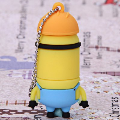 4GB Portable Fashionable Despicable Me Cartoon Character Bad Style U Disk