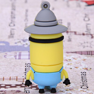 8GB High Quality Lovely Cartoon Character Tim Style USB Flash Memory
