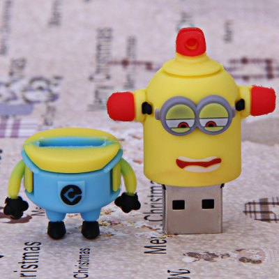 16GB High Quality Lovely Cartoon Character Bee-do Carl Style USB Flash Memory