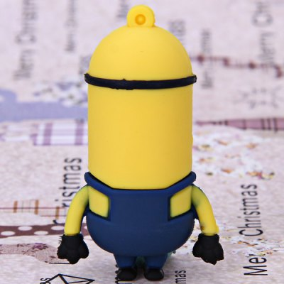 Гаджет   8GB Portable Fashionable Despicable Me Cartoon Character Minions Tom Style U Disk USB Flash Drives