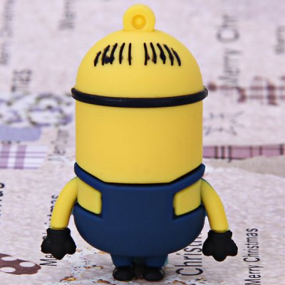 4GB High Quality Lovely Cartoon Character Bee-do Mark Style USB Flash Memory