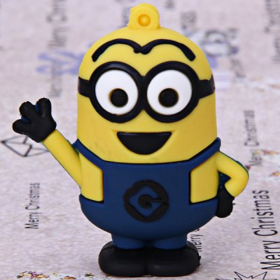 4GB High Quality Lovely Cartoon Character Bee-do Dave Style USB Flash Memory