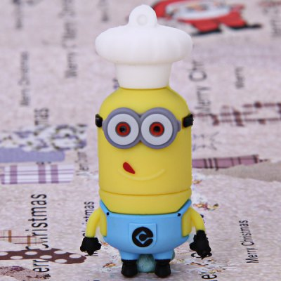 4GB High Quality Lovely Cartoon Character Bee-do Phil Style USB Flash Memory