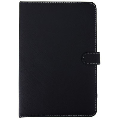 ФОТО Micro USB Keyboard Artificial Leather Case with Stand Function for 10 inch Tablet PC - Black