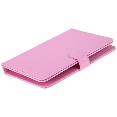 Фотография USB 2.0 Connected Keyboard PU Leather Protective Case for 9 inch Tablet
