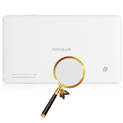 Ramos W20 Android 4.1 Phone Tablet PC with 7 inch WSVGA Screen Amlogic AML8726 - MX A9 Dual Core 1.2GHz  (White)