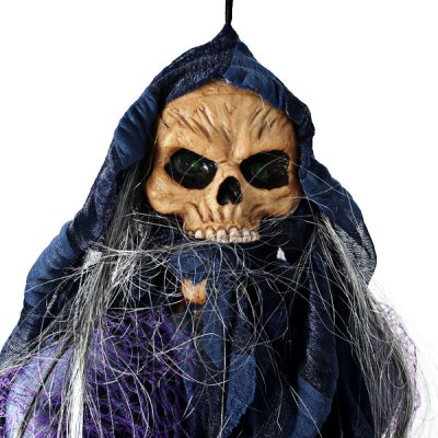 2013 New Arrival Fashion Halloween Props Funny Toys Light Controlled Novelty Skeleton Ghost Toy
