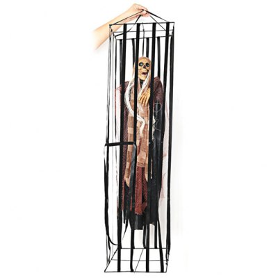 Гаджет   Halloween Halloween Supplies Props Haunted House Decorations Hanging Ghost Cloth Cage Big Ghost Halloween Supplies