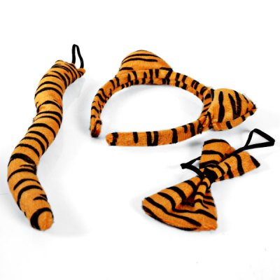Halloween Tire Animal Ears Head Hoop Hairpin Tiger Ears Tail Tie Three-piece Suit - GoldenHalloween Supplies<br>Halloween Tire Animal Ears Head Hoop Hairpin Tiger Ears Tail Tie Three-piece Suit - Golden<br><br>Type: Others<br>Feature: Halloween Tire<br>Available Color: Golden<br>Product Weight   : 0.027 kg<br>Package Weight   : 0.035 kg<br>Package Size (L x W x H)  : 22 x 19 x 3 cm<br>Package Contents: 3 x Halloween Tire