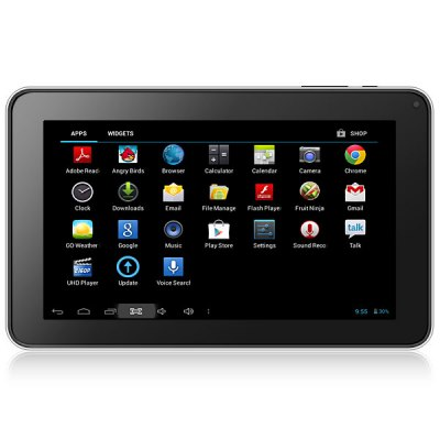 Android 4.2 9 inch WVGA All Winner A20 S92 Tablet PC 1GB RAM + 8GB ROM
