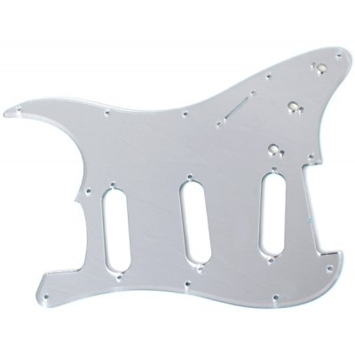 MA-017 Professional 3-PLY Mirror Surface Pickguard Scratch Plate for Electric Guitar