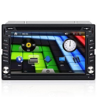 J-2613MX 6.2 Inches Digital Touch Screen Car GPS DVD Player for Nissan