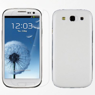 Magic TSR HD Frosted and Anti-glare Set Series Main Screen and Camera Protective Film for Samsung Galaxy S3 I9300