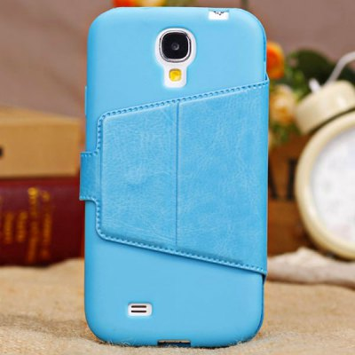 commercial-style-leather-wallet-pouch-flip-cover-case-universal-for-apple-iphone-5c-ohter-cell-phones-blue