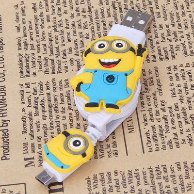 USB Elastic Cable with Bee-do Style