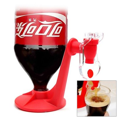 Creative Soda Coke Fizz Saver Dispenser Switch Side Leakage Protection Drinking DeviceHome Gadgets<br>Creative Soda Coke Fizz Saver Dispenser Switch Side Leakage Protection Drinking Device<br><br>Material: Plastic<br>Color: Black,Red<br>Product weight: 0.182 kg<br>Package weight: 0.2 kg<br>Package size (L x W x H): 23.5 x 11 x 8 cm<br>Package Contents: 1 x Coke Bottle Inverted Water Dispenser