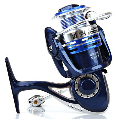 Hot Sale Corrosion-resistant LB3000 4+1BB Fishing Reel Spinning Reels Practical Fishing Tackle