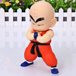 Highly Detailed Dragon Ball Super Cool Kuririn Figure PVC Figure Model Toy for Cartoon Fans