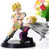 Set of 2pcs Hot Anime Dragon Ball Z Characteristic Figure Models with Standing Base