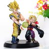 Set of 2pcs Hot Anime Dragon Ball Z Characteristic Figure Models with Standing Base photo
