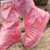 Size L Side Zipper Design Slip - resistant Waterproof Thickening Rain Boot Shoes Cover deal