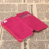 Fashion Style PC + PU Leather Shell Case for iPhone 5G with Call Display Function photo