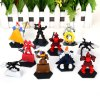 10pcs/lot Classic Anime Carton Fighters 5 to 7 cm Height Fighters Characteristic Figure Models with Standing Bases for sale