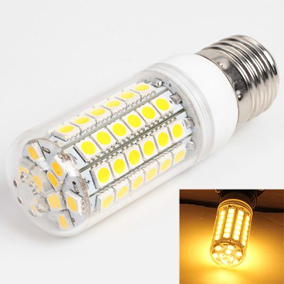 E27 69 - SMD 5050 LED 14W AC220V Warm White Corn Lamp