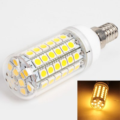 E14 69 - SMD 5050 LED 14W 220V Warm White Corn Lamp