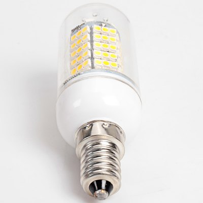 E14 120 - SMD 3528 LED 12W 85 - 265V Warm White Corn Lamp