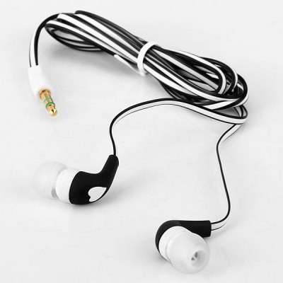 SMZ - 630 Flat Cable Design Heavy Bass 3.5MM Jack Stereo Earphone