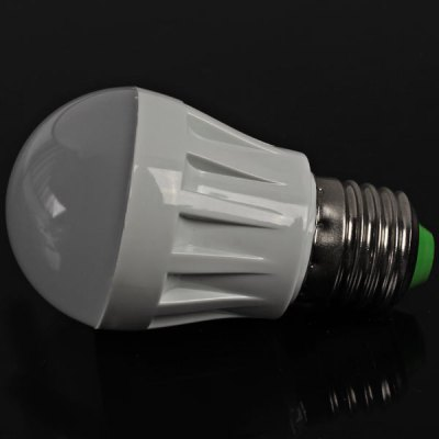 E27 10 - SMD 3528 LED 3W AC220V White Ball Bulb