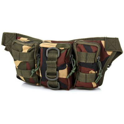 Camouflage Waist Bag for Outdoor