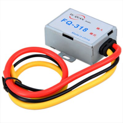 FQ-318 Plastic Body Wired Audio Power Supply Filter for Car Auto - BlackOther Car Gadgets<br>FQ-318 Plastic Body Wired Audio Power Supply Filter for Car Auto - Black<br><br>Model  : FQ-318<br>Material  : Plastic<br>Product weight   : 0.20 kg<br>Package weight   : 0.23 kg<br>Product size (L x W x H)  : 6.3 x 5.6 x 2.5 cm<br>Package size (L x W x H)  : 13.2 x 20.2 x 3.3 cm<br>Package contents: 1 x Audio Power Filter