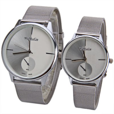 Valentine WoMaGe 654 Couple Watch