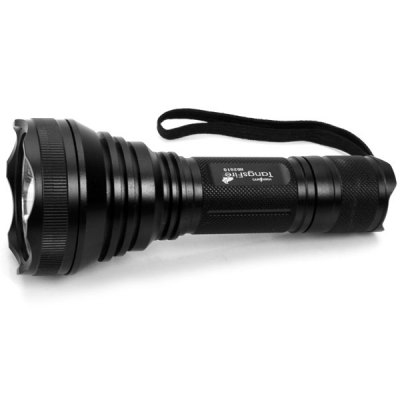 Low Power Consumption 2010# 3 x Cree XM-L T6 1000 Lumens 5 Modes Flashlight - BlackLED Flashlights<br>Low Power Consumption 2010# 3 x Cree XM-L T6 1000 Lumens 5 Modes Flashlight - Black<br><br>Model: 2010#<br>Total Emitter: 3 x Cree XML-T6<br>Feature: Lanyard<br>Function: Hiking, Fishing, Camping, Exploring, Hunting, Night Riding, Seeking Survival, Walking, Household Use<br>Battery Quantity: 1 x 18650 / 26650 (not included0<br>Mode: 5 (High &gt; Mid &gt; Low &gt; Strobe &gt; SOS)<br>Power Source: Battery<br>Lens: Glass Lens<br>Impact Resistance: 1.5m<br>Beam Distance: 150-200m<br>Body Material: Aluminium Alloy<br>Available Color: Black<br>Product weight: 313 g<br>Package weight: 400 g<br>Package size (L x W x H): 8 x 8 x 20 cm<br>Package Contents: 1 x Flashlight