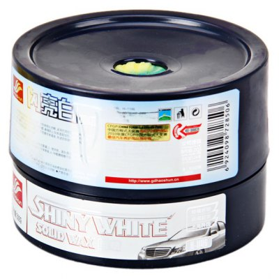 H-1146 High Gloss Solid Car Coating Wax for White Color