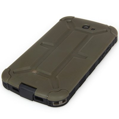 ФОТО Cool Style Plastic Waterproof Case for Samsung Galaxy Note 2 N7100 - Gray