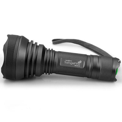 Гаджет   Low Power Consumption 2010# Cree XM-L T6 1000 Lumens 5 Modes Flashlight with Battery and Charger - Grey LED Flashlights