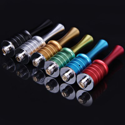 ФОТО RDA E - Cig Replacement Full Aluminum Body Spindly Mouth E - Cigarette Atomizer Holder  -  6pcs/Pack