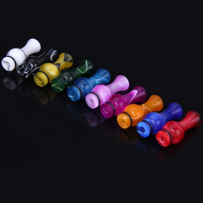 E - Cig Replacement Acrylic Calabash Design E - Cigarette Atomizer Holder  -  10pcs/PackAccessories<br>E - Cig Replacement Acrylic Calabash Design E - Cigarette Atomizer Holder  -  10pcs/Pack<br><br>Type: Electronic Cigarettes Accessories<br>Accessories type: Drip Tip<br>Material: Acrylic<br>Available Color: Assorted Colors<br>Product weight  : 2 g (1pcs)<br>Package weight   : 0.050 kg<br>Product size (L x W x H)  : 2.8 x 1.2 x 1.2 cm<br>Package size (L x W x H)  : 8.0 x 7.0 x 3.0 cm<br>Package Contents: 10 x Cigarette Atomizer Holder