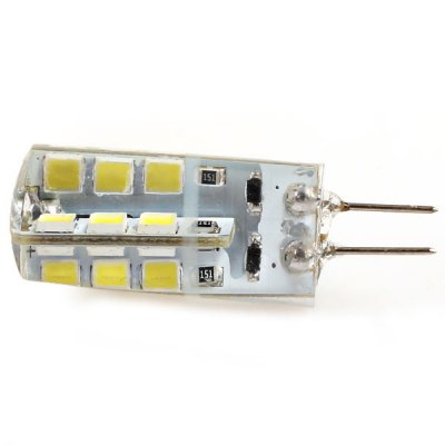 G4 24 - SMD 2835 LED DC12V White Car Turn Signal LightLED Bi-pin Lights<br>G4 24 - SMD 2835 LED DC12V White Car Turn Signal Light<br><br>Type: Car Light<br>Car light type: Turn Signal Light, Brake Light, Reading Light<br>Connector: G4<br>Available Light Color: White<br>Wattage (W): 5<br>Voltage (V): DC 12<br>Features: Low Power Consumption, Easy to use<br>Product weight: 0.005 kg<br>Package weight: 0.050 kg<br>Package size (L x W x H): 6 x 3 x 3 cm<br>Package Contents: 1 x Corn Car Light